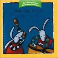 What Day Is It?/ Que Dia Es? by American Heritage Dictionary, 9780618448746