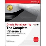 Oracle Database 11G The Complete Reference by Loney, 9780071598750