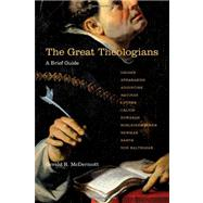 The Great Theologians by McDermott, Gerald R., 9780830838752