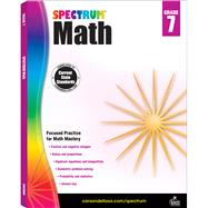 Spectrum Math, Grade 7 by Spectrum, 9781483808758