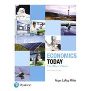 Economics Today The Macro View by Miller, Roger LeRoy, 9780134478760