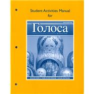 Student Actvties Mnl Golosa: A Basic Course In Russian, Book One by Robin, 9780205748761