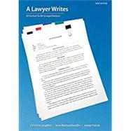 A Lawyer Writes by Coughlin, Christine; Rocklin, Joan Malmud; Patrick, Sandy, 9781531008765