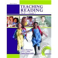 Teaching Reading Pre-K To Grade 3 W/ CD-Rom by Laurie Elish-Piper, 9780757538766
