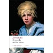 Oroonoko, and Other Writings by Aphra Behn; Paul Salzman, 9780199538768