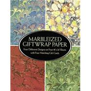 Marbleized Giftwrap Paper by Unknown, 9780486258768