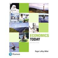 Economics Today Plus NEW MyEconLab with Pearson eText -- Access Card Package by Miller, Roger LeRoy, 9780134478777