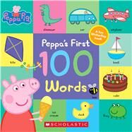 Peppa's First 100 Words (Peppa Pig) by Eone, 9781338228779