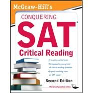 McGraw-Hill's Conquering SAT Critical Reading by Falletta, Nicholas, 9780071748780