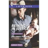 Reining in Justice by Fossen, Delores, 9780373748785