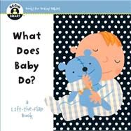 Begin Smart? What Does Baby Do? A First Lift-the-Flap Book by Unknown, 9781454918790