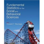 Fundamental Statistics for the Social and Behavioral Sciences by Tokunaga, Howard T., 9781483318790
