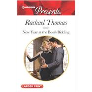 New Year at the Boss's Bidding by Thomas, Rachael, 9780373138791