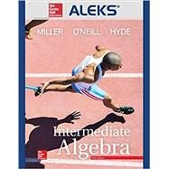 ALEKS 360 Access Card (18 weeks) for Intermediate Algebra by Miller, Julie; O'Neill, Molly; Hyde, Nancy, 9781259948794