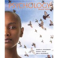 Psychology by Hockenbury, Sandra E.; Nolan, Susan A., 9781464108808