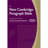 New Cambridge Paragraph Bible with Apocrypha KJ595:TA Black Calfskin: Personal size by Bible, 9780521198813