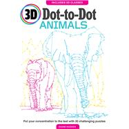 3D Dot to Dot Animals by Madden, Shane, 9781626868816