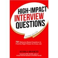 High-impact Interview Questions by Hoevemeyer, Victoria A.; Falcone, Paul, 9780814438824