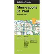 Rand McNally Regional Map Minneapolis / St. Paul, Minnesota by Rand McNally and Company, 9780528008832