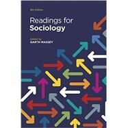 Readings for Sociology by Massey, Garth, 9780393938845
