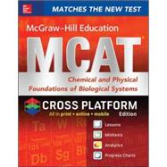 McGraw-Hill Education MCAT Chemical and Physical Foundations of Biological Systems 2015, Cross-Platform Edition by Hademenos, George, 9780071848848