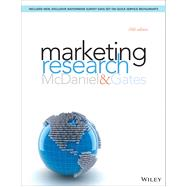 Marketing Research by McDaniel, Carl, Jr.; Gates, Roger, 9781118808849