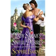 Lady Sarah's Sinful Desires by Barnes, Sophie, 9780062358851