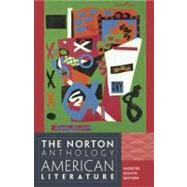 The Norton Anthology of American Literature, Shorter 8th Edition, Abridged by Nina Baym; Robert S. Levine; Wayne Franklin; Philip F. Gura; Jerome Klinkowitz; Arnold Krupat; Mary Loeffelholz; Jeanne Campbell Reesman; Patricia B. Wallace, 9780393918854