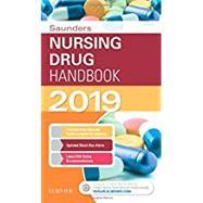 Saunders Nursing Drug Handbook 2019 by Kizior, Robert J.; Hodgson, Keith J., R.N., 9780323608855