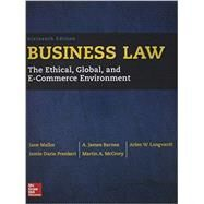 Business Law with Connect by Mallor, Jane, 9781259638855