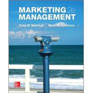Marketing Management by Marshall, Greg; Johnston, Mark, 9780078028861