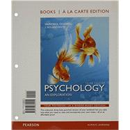 Psychology An Exploration, Books a la Carte Edition Plus MyPsychLab with Pearson eText -- Access Card Package by Ciccarelli, Saundra; White, J. Noland, 9780134078861