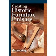 Creating Historic Furniture Finishes by Williams, Don, 9781440338861