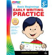 Early Writing Practice, Grades Preschool - K by Spectrum, 9781609968861
