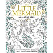 The Little Mermaid: A Coloring Book by Andersen, Hans Christian; Dulac, Edmund, 9781626868861