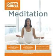 Idiot's Guides Meditation by Burk, Domyo Sater, 9781615648863