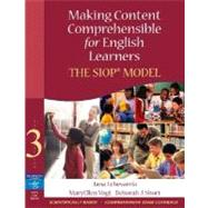 Making Content Comprehensible for English Learners : The SIOP Model by Echevarria, Jana J.; Vogt, MaryEllen; Short, Deborah J., 9780205518869