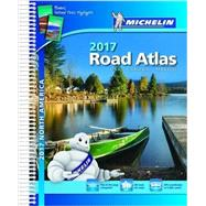 Michelin 2017 Road Atlas North America by Michelin Travel & Lifestyle, 9782067208872