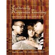 Culturally Responsive Teaching : Lesson Planning for Elementary and Middle Grades by IRVINE, 9780072408874