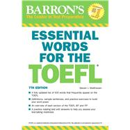 Barron's Essential Words for the TOEFL by Matthiesen, Steven J., 9781438008875