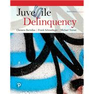 JUVENILE DELINQUENCY by Bartollas, Clemens; Schmalleger, Frank; Turner, Michael, 9780134558882
