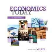 Economics Today The Micro View by Miller, Roger LeRoy, 9780132948883