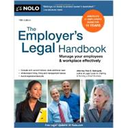The Employer's Legal Handbook by Steingold, Fred S., 9781413318883