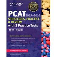 Kaplan PCAT 2015-2016 + Online by Kaplan, Inc., 9781618658883