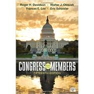 Congress and Its Members by Davidson, Roger H.; Oleszek, Walter J.; Lee, Frances E.; Schickler, Eric, 9781483388885