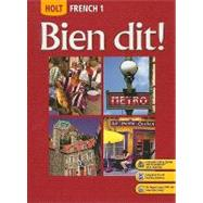 Bien Dit: French 1 by Demado, John; Champeny, Severine; Ponterio, Marie; Ponterio, Robert, 9780030398889