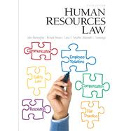 Human Resources Law by Remington, John; Heiser, Richard T.; Smythe, Cyrus; Sovereign, Kenneth, 9780132568890