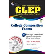 The Best Test Preparation for the CLEP College Composition Exams by Smith, Rachelle, Ph.D.; Marullo, Dominic; Springer, Ken, Ph.D., 9780738608891