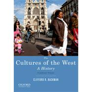 The Cultures of the West, Combined Volume A History by Backman, Clifford R., 9780195388893