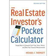The Real Estate Investor's Pocket Calculator by Thomsett, Michael C., 9780814438893